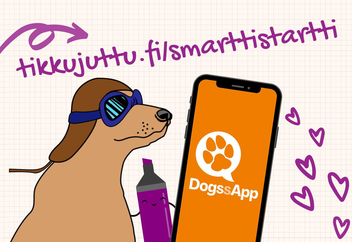 Smarttistartti ja DogssApp